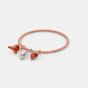 The Flamma Convertible Charm Bangle